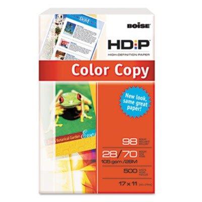 Boise - Bcp2817 Hd:P Color Copy Paper, 98 Brightness, 28Lb, 11 X 17, White, 500 Sheets/Ream -  BCP-2817
