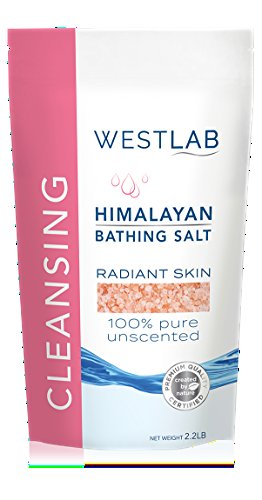 Himalayan Salt Pink Fine 4.4 lbs 2 Pack(FINE for Bathing in 2 x 2.2 lb resealable (Himalayan Bath Salt Crystals)