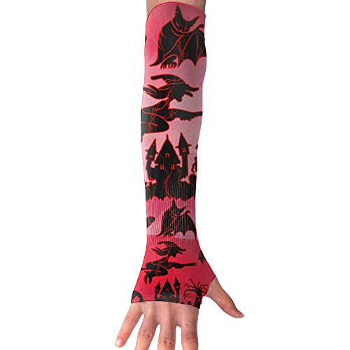 Anti Cupid Costume (Halloween Decorations Anti-UV Cuff Sunscreen Glove Outdoor Driving Half Refers Model Arm Sleeve For Riding Bicycles Fishing Running Climbing Unisex)