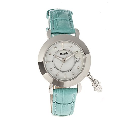 bertha-womens-hannah-mop-strap-turquoise-stainless-steel-watch