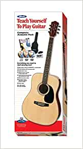 alfred 39 s teach yourself to play acoustic guitar complete starter pack everything you need to. Black Bedroom Furniture Sets. Home Design Ideas