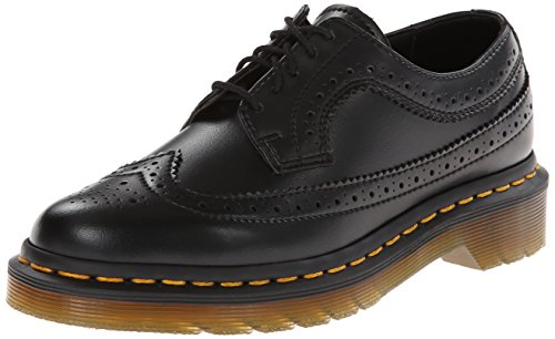 Dr. Martens Men's Dr Martens Black Lace Up Brogue Shoes 40(IT)-10(US) Black by Dr. Martens