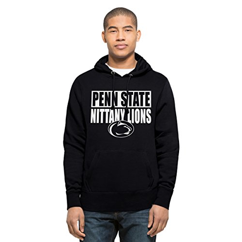 '47 NCAA Penn State Nittany Lions Men's Headline Pullover Hoodie, Large, Fall Navy