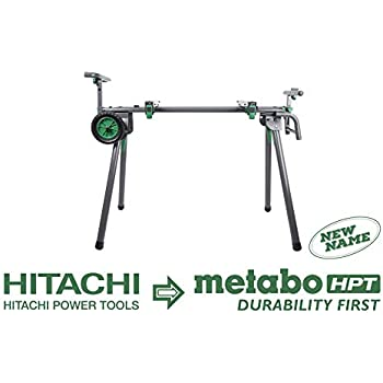 Metabo Hpt Uu240f Universal Portable Miter Saw Stand With