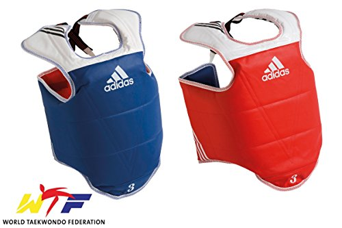 Adidas WTF TaeKwonDo Solid Reversible Chest Protector - Small ()