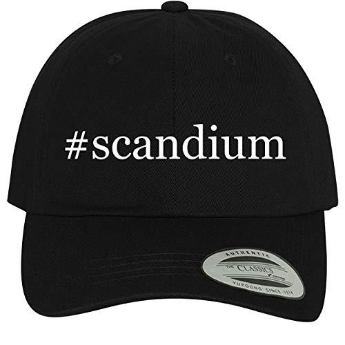 BH Cool Designs #Scandium - Comfortable Dad Hat Baseball Cap, Black