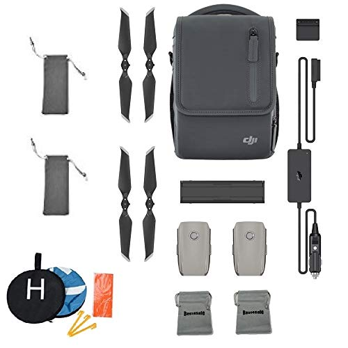 (DJI Mavic 2 Fly More Kit for Mavic 2 Pro and Mavic 2 Zoom Accessories Combo Bundle with Landing Pad, Battery Bag, Propellers Bag)