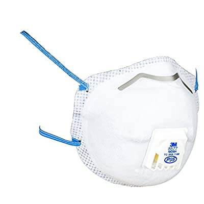 3M 8577PA1-A-PS Paint Odor Valved Respirator, 2 each/pack