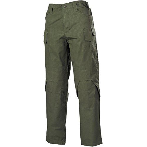 MFH Hommes Mission Combat Pantalon Ripstop OD Vert taille L