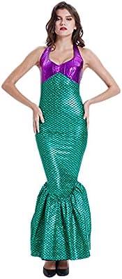 ShiyiUP Disfraces para Halloween Vestido de Sirena: Amazon.es ...