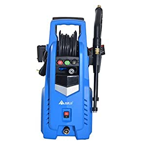 HOMCOM 2000 PSI 1.3 GPM Electric High Pressure Washer Sprayer w/ Quick-Connect Spray Tip