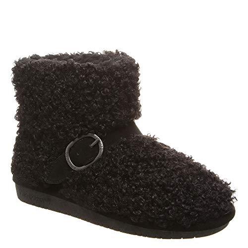 BEARPAW - Womens Treasure Slippers, Size: 10 B(M) US, Color: Black Ii from BEARPAW