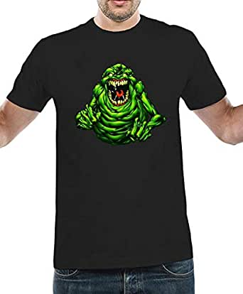 IngraveIT Black Cotton Round Neck T-Shirt For Men