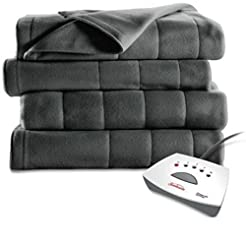 Sunbeam Heated Mattress Pad | Quilted Po...