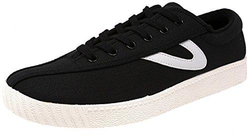 Tretorn Damen Nylite Plus Fashion Sneaker Schwarz / Weiß