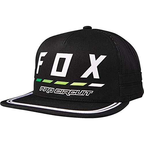 Fox Men's Pro Circuit Draftr Snapback Hat, Black, OS