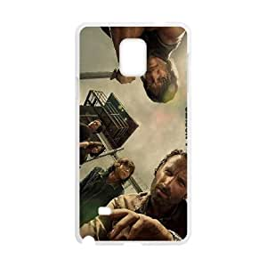 The Walking Dead Samsung Galaxy Note 4 Cell Phone Case White gdty