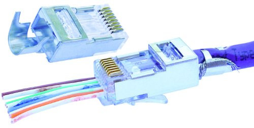Platinum Tools 106185 RJ45 Cat6 Connector with Liner, 500-Pack by Platinum Tools