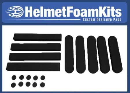 (Helmet Replacement Pads Universal Fit Red Cycling Bike Bicycle)