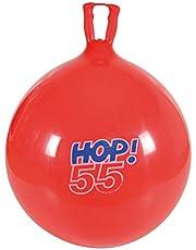 Gymnic 80.55 - springbal Hop 55, rood