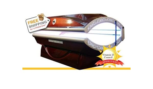 Tanning bed white strip are