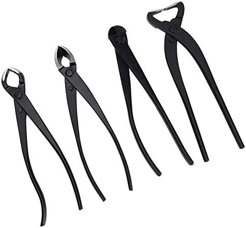 Stainless Steel Fit Loosen Soil, Cutting Leaves Garden Cutter Scissors, Bonsai Trimming Tool, 4pcs Scissors for Orchard Park