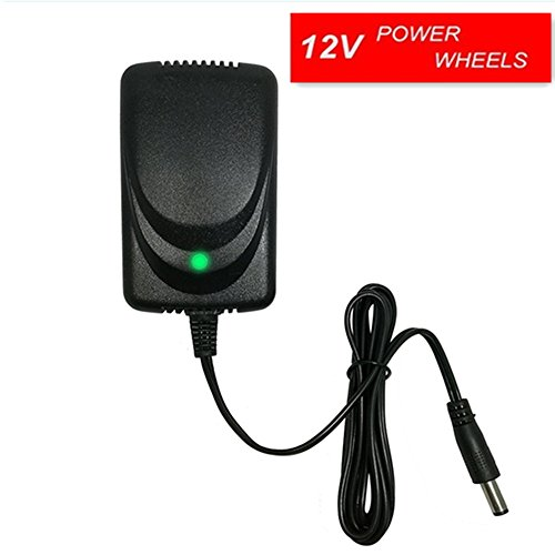 12V Kids Power Wheels Universal Charger Hello Kitty SUV Mercedes-Benz Audi Range Rove BMW I8 RC Car Children Electric Ride On Toys Battery Supply by Power Adaptor with Charging Indicator Light