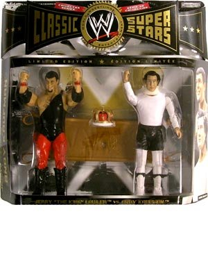 WWE Classic Superstars Series 8 2-Pack Jerry the King Lawler, Andy Kaufman