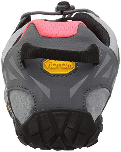 Vibram Women's V Trail Runner Grey/Black/Orange 37 EU/6.5 M US by Vibram (Image #2)