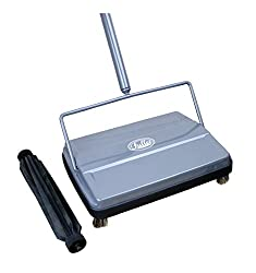 Fuller Brush Carpet Sweeper With Additional Rubber Rotor