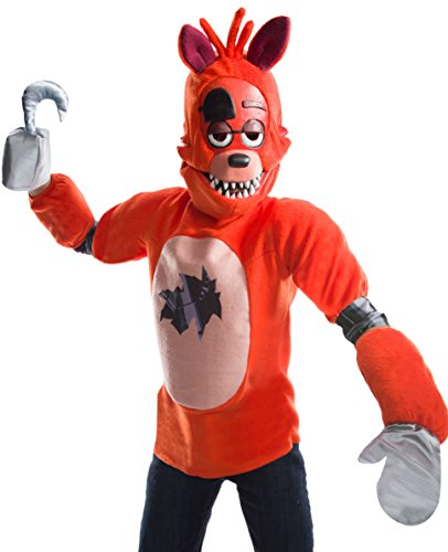 Rubie's Costume Boys Five Nights at Freddy's Foxy The Pirate Costume, Large, ()