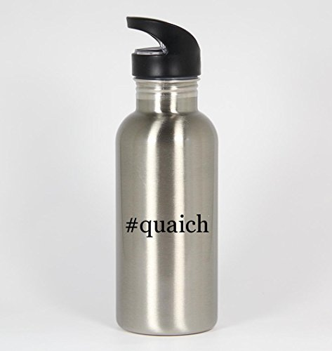 #quaich - Funny Hashtag 20oz Silver Water Bottle for sale  Delivered anywhere in Canada