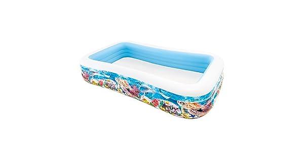 Amazon.com: Swim Center Sunfish Familia Inflable Piscina ...