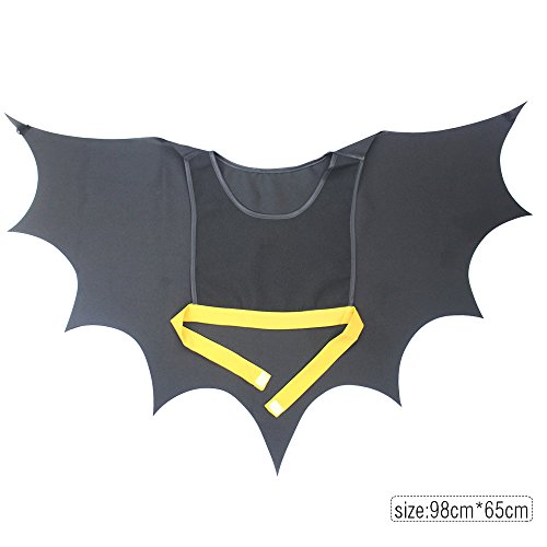 iROLEWIN Kids Unisex Vampire Bat Cape Wings - Child Toddler Costume