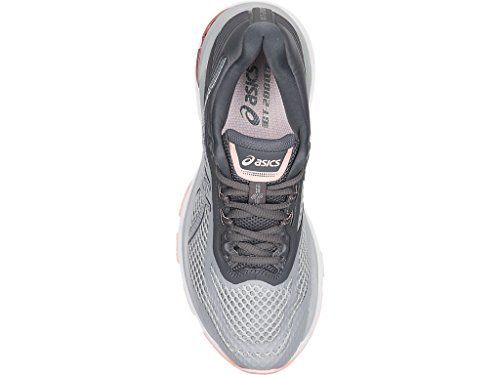 ASICS Women's GT-2000 6 Running Shoe, Mid Grey/Silver/Carbon, 5 M US by ASICS (Image #6)