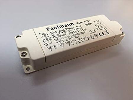 Paulmann Halogen Trafo PROF1 105LT 10-105W Dimmbar Transformator Kein LED!
