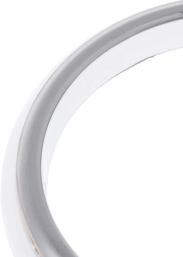 siwetg 1 Paar ABS Chrom Nebelscheinwerfer Lampenabdeckung