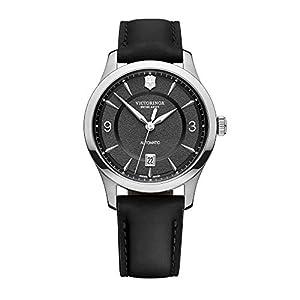 Victorinox Men's Alliance – Swiss Made Analogue Quartz Stainless Steel/Leather Watch 241869