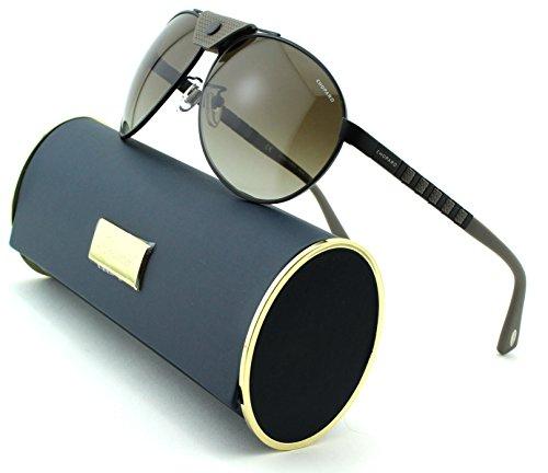 chopard-sch-b33-unisex-aviator-sunglasses-semi-matte-black-frame-brown-gradient-green-polarized-lens