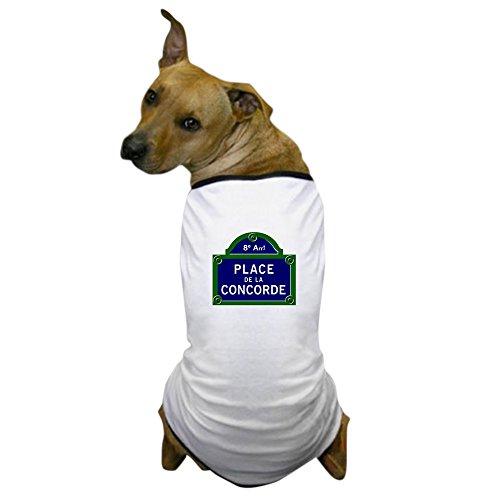 Costumes Parisien (CafePress - Place de la Concorde, Paris - France Dog T-Shirt - Dog T-Shirt, Pet Clothing, Funny Dog Costume)
