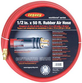 Legacy Mfg. Co. LEG-HRE1250RD3 LEG-HRE1250RD3 Workforce 0.5 in. X 50 ft. rubber ai