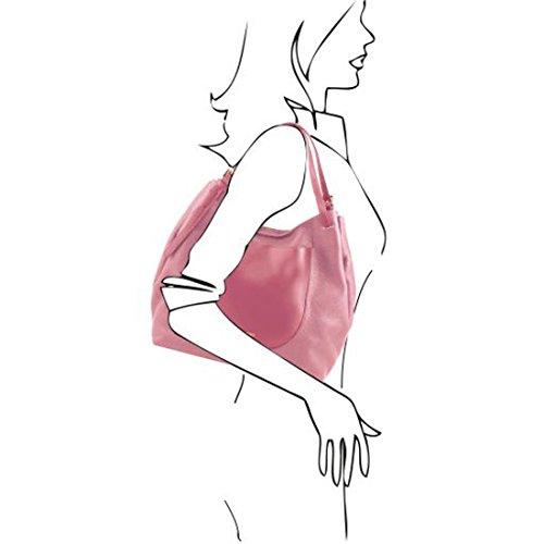 Tuscany Leather Cinzia - Bolso shopping en piel soave - TL141515 (Rosa pálido) Rosa pálido