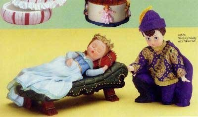 Madame Alexander Collectibles Sleeping Beauty & Prince Figurine Set