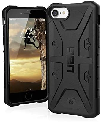 URBAN ARMOR GEAR UAG Designed for iPhone SE 2020 Case Pathfinder [Black] Rugged Shockproof Military Drop Tested Protective Cover