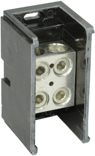 (Power Distribution and Terminal Block, Connector Blok - Splicer/Reducers, 500MCM-4 AWG Line and 500MCM-4 AWG Load Side Configuration, 2.90
