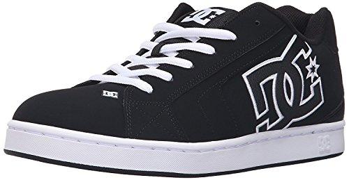 DC Mens Net Lace-Up Shoe, Negro/negro/blanco, 44.5 D(M) EU/10 D(M) UK