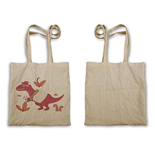 Simpatico Piccolo Fumetto Tote Bag U346r Dinosauro