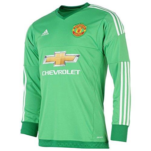 2015-16 Manchester United Goalkeeper Home Football Soccer T-Shirt (David De  Gea 1) - Kids  Amazon.co.uk  Sports   Outdoors ba6df5547