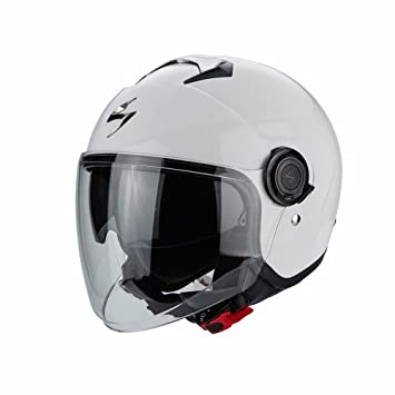 Scorpion Casco Moto exo-city, White, XS