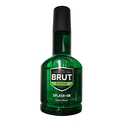 Brut Splash-on Classic Scent for Men, 3.5 Oz